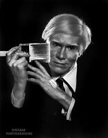 1979 YOUSUF KARSH Vintage DUOTONE 11X14 ANDY WARHOL Pop Artist Painter Pop Art