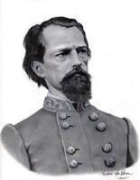 Ltd. Ed. Civil War S/N Art Print - Confederate General John Brown Gordon