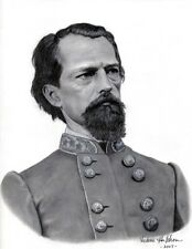 Ltd. Ed. Civil War S/N Art Print - Confederate General John Brown Gordon