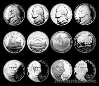 2000 2001 2002 2003 2004 2005 2006 2007 2008 2009 S Jefferson Mint Proof Set