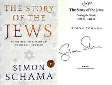 Simon Schama~SIGNED & DATED~The Story of the Jews~1st US Ed/1st Printing+ Photos