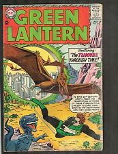 """Green Lantern #30 ~vs Dinosaurs / """"The Tunnel Through Time!"""" ~1964 (3.0) WH"""