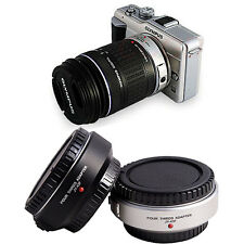 JY-43F Auto Focus Four Thirds to Micro 4/3 Adapter MMF-1 AH for Olympus silver