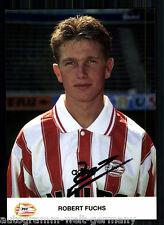 Robert Fuchs PSV Eindhoven AK 90er Jahre TOP Original Signiert +A 60448