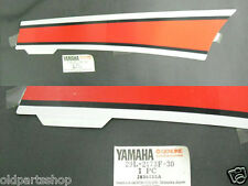 Yamaha RD350YPVS RZ350 Side Cover Decal NOS Genuine Graphic STICKER 29L-2173F-30