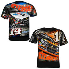Tony Stewart Chase Authentic #14 Bass Pro Shops/Mobil 1 Aero Sublimated Tee FREE