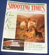 SHOOTING TIMES MAGAZINE JULY 21-27 1988 - GAME FAIR NUMBER