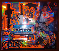 ACTION MAN - MISSION TECH - ELECTRONIC - HASBRO - 2004