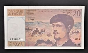 FRANCE * billet de 20 francs Debussy de 1993 * NEUF * E.045 / 285858