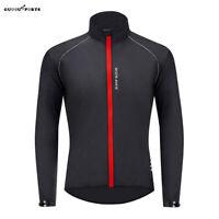 Mens Cycling Jacket Windproof Waterproof Road MTB Mountain Bike Cycle Jersey Top