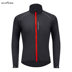 Mens Cycling Jacket Windproof Waterproof Road MTB Mountain Bike Cycle Jersey Top