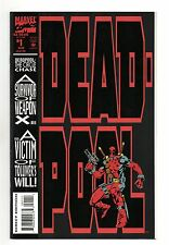 Deadpool The Circle Chase Vol 1 No 1 Aug 1993 (NM-) Embossed Card Cover