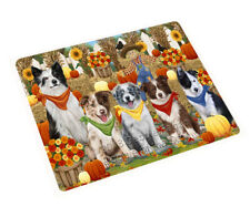 Fall Autumn Festival Gathering Cutting Board, Dogs, Cats, Pet Kitchen board gift