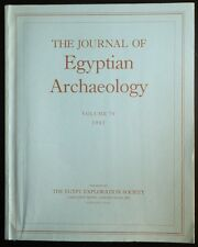The Journal of Egyptian Archaeology Volume 79 1993 The Egypt Exploration Society
