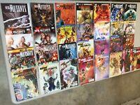 Lot 30 New Mutants 2 3 6 8-10 13-15 18 21-25 28 33 34 36 40 42-50 Marvel Comics