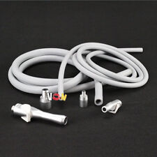 Dental Saliva Ejector Suction Valves SE/HVE Tip Adaptor + 2 Tubing Hose