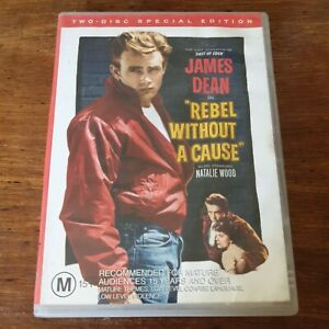 A Rebel Without a Cause DVD R4 Like New! FREE POST