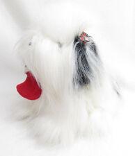 VTG AMERICA WEGO STUFFED PLUSH CHRISTMAS SHEEP DOG XMAS STOCKING