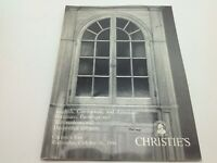 Christie's Auction Catalog English American Paintings Furniture October 16 1991