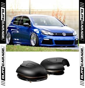 Fits Volkswagen Golf MK6 Sequential Side Mirror LED Indicators (SMOKED) VW GTI R
