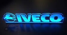 Blue LED 24V Interior Cabin Light Plate Sign for IVECO Trucks 500 mm window fit