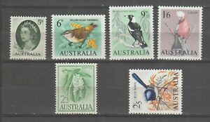 s38458 AUSTRALIA. 1959 MNH** Definitives Not Complete