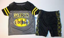 DC Comics Batman Toddler Boys 2pc Shorts Outift Size 24M NWT