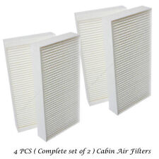 2 Sets Cabin Air Filter For Honda Civic CRV Acura RSX Fresh Breeze 80292-S5D-A01