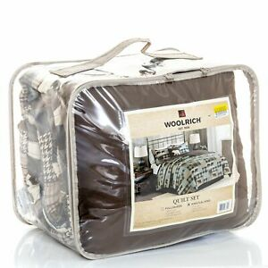 WOOLRICH Twin Falls 4 Pc Quilt Set KING/CAL KING