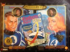 Famous Covers Fantastic Four Mr Fantastic Invisible Woman Figure Set 1998