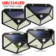 LED Solar Power Motion Sensor Garden Security Lamp Outdoor Waterproof Lights