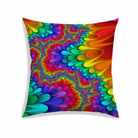 Abstract Digital Print Cushion Cover Multicolor Living Room Sofa Pillow Case