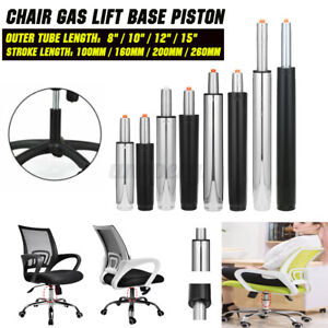 """10"""" 12"""" 15"""" REPLACEMENT GAS LIFT BAR STOOL OFFICE CHAIR ADJUSTABLE SEAT PISTON"""