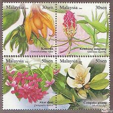 [SS] Malaysia 2008 Unique Flowers STAMP SET
