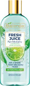 Bielenda Fresh Juice Lime Detoxifying Micellar Bioactive Citrus Water 500ml