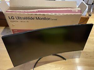 """LG UltraWide 35WN73A-B 35"""" VA WQHD Curved Monitor"""