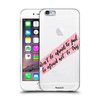 Custodia Cover Design Frasi Per Apple iPhone 4 4s 5 5s 5c 6 6s 7 Plus SE