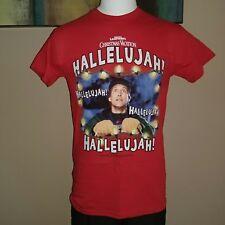 CHRISTMAS VACATION HALLELUJAH LIGHTS SMALL SM MOVIE CHRISTMAS TOP SHIRT NEW