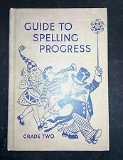 Guide To Spelling Progress Grade Two Betts and Arey First Edition 1941 very Good