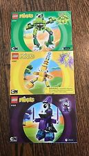 Lot of 3 Lego Mixels Instruction Manuals Books Only