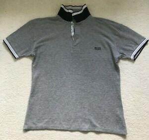 Hugo Boss Short Sleeve Polo Grey  Size XL