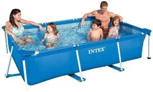 Intex Pool - Aufstellpool Rechteckig Schwimmbecken - 220 x 150 x 60 cm NEU OVP