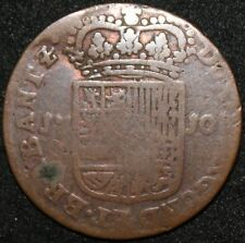 1710 | Spanish Netherlands Philip V Liard | Copper | Coins | KM Coins