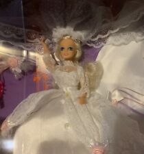 "Starr Model Agency Here Comes the Bride 6"" Doll Set Bridal Gown & Train Vntg 90s"