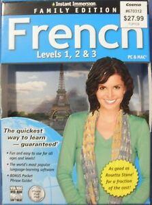 Instant Immersion Family Edition French Levels 1, 2 & 3 PC & MAC