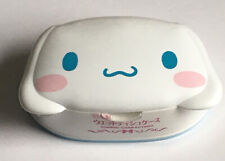 More details for cinnamoroll wet wipes storage case with 80pcs die cut face sanrio japan htf rare