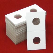100 Cardboard 2x2 Coin Holder Mylar Flips for Cents