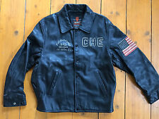 Chevignon Leder-Jacke Sammlerstück/Rare 1957 Action Fit black Gr. L