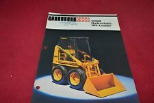 Case Tractor 1816B Hydrostatic Skid Steer Uni Loader Dealer's Brochure YABE15