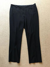 M&S Woman Black Tailored Trousers. Size 16 M